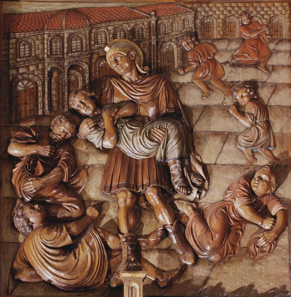 Martirio de San Tarsicio