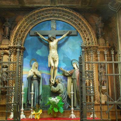C. de laCrucifixión