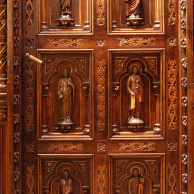 Puerta sacristía